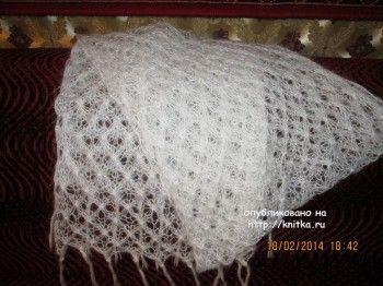 Работы Марии Гнедько. Вязание спицами.