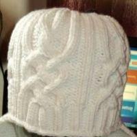 Зимняя шапка – работа Светланы Сальниковой