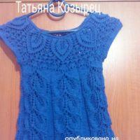Платье для девочки – работа Татьяны