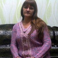 Женский жакет спицами – работа Натальи Самойловой