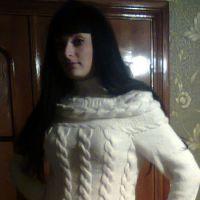Платье спицами – работа Ирины Стильник