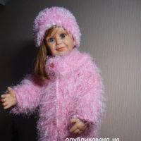 Пальто и шапочка для девочки – работа Татьяны Султановой