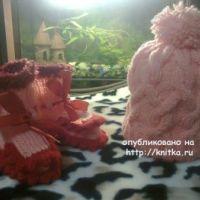 Детская шапочка спицами – работа Ирины Стильник