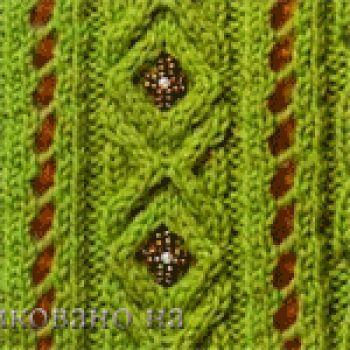 Схемы вязания из японских журналов. Вязание спицами.