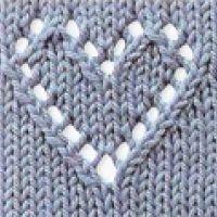 Ажурные схемы вязания спицами