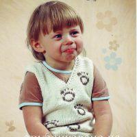 Вязание жилета спицами для мальчика