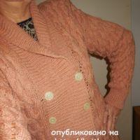 Женский пуловер. Работа Людмилы