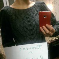 Туника – свитер. Работа Ирины