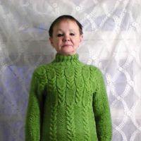 Женское платье. Работа Натальи Фадеевой