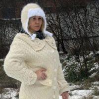 Зимнее пальто Ванилька. Работа Оксаны