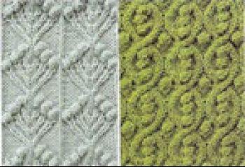 Схемы вязания спицами. Вязание спицами.