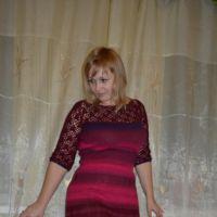 Платье комбинированное. Работа Оксаны