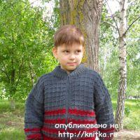 Куртка для мальчика. Работа Светланы Шевченко