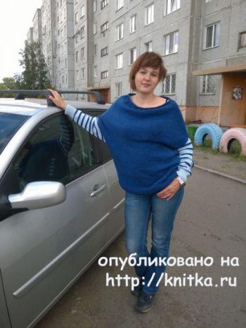 Женский джемпер спицами от Веры Коваль