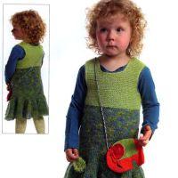 Вяжем спицами платье для девочки
