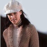 Теплый жакет, вязание спицами