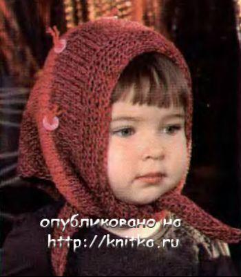 Вязание спицами косынки