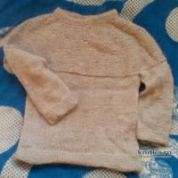 Мужской и детский свитер спицами. Работы Светланы Норман