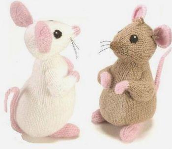 Мышка спицами. Вязание спицами.