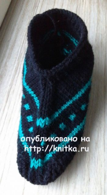 Следки спицами мужские от Ольги Ярославской
