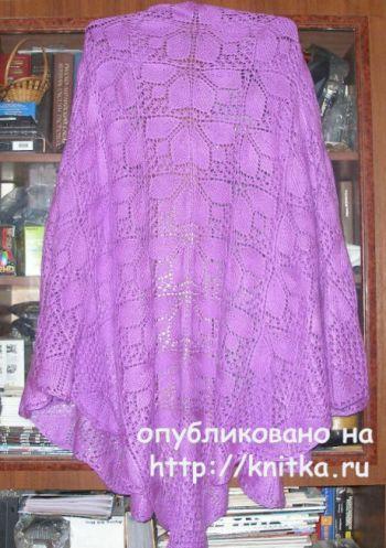 Схема вязания шали от Елены