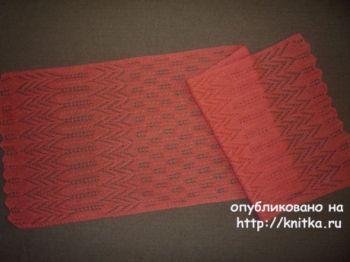 Ажурный шарф от Елены Владимировны
