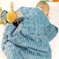 Морской плед для малыша