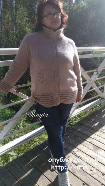 Жакет - куртка Гоби на молнии от Shayta. Авторская работа для женщин