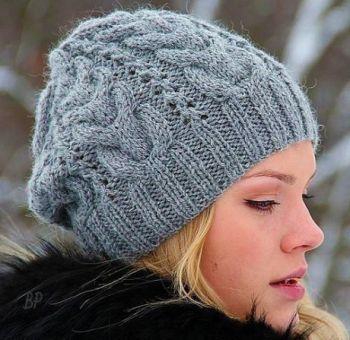 Легендарная зимняя женская шапка Звезда Рока