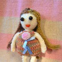 """Развивающая кукла для малышей """"Бусинка"""""""