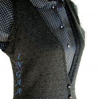 Вязание с бисером на спицах