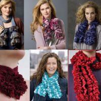 Вязание шарфа спицами за 3 часа