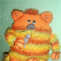 Апельсиновый кот-подушка!