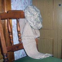 Берет и шарф