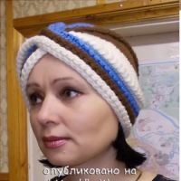 """Шапочка – """"чалма"""""""