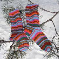 Socks Shrovetide (Масленица) автор Виктория Змейка
