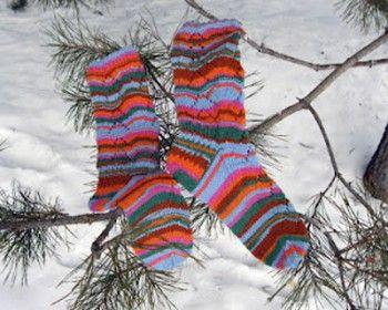 Socks Shrovetide (Масленица) автор Виктория Змейка. Вязание спицами.