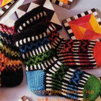 Узорные носки