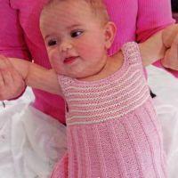 Розовое платье – сарафан