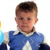 Жилет с ромбами для мальчика