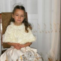 Вязаное болеро для девочки – зимний вариант