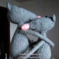 Вязаные игрушки – работы Наталии