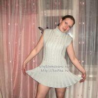 Вяззаное платье – работа Людмиллы
