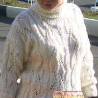 Женский пуловер – работа Светланы Шевченко