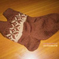 Вязаные носочки и следки Наталии Гуторовой