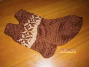 Вязаные носочки и следки Наталии Гуторовой. Вязание спицами.