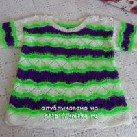 Летние пуловеры – работы Светланы Шевченко