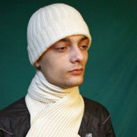 Комплект: шапка + шарф спицами