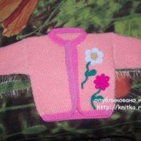 Работы Анны: жакет и юбка для девочки