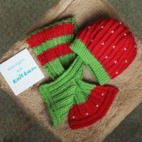 Шапочка и шарф – работа Элен
